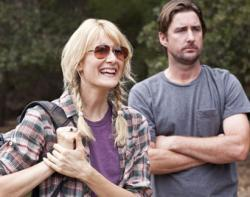 Laura Dern and Luke Wilson in Enlightened.