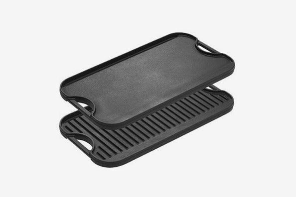 Lodge Pro-Grid Cast-Iron Grill and Griddle Combo