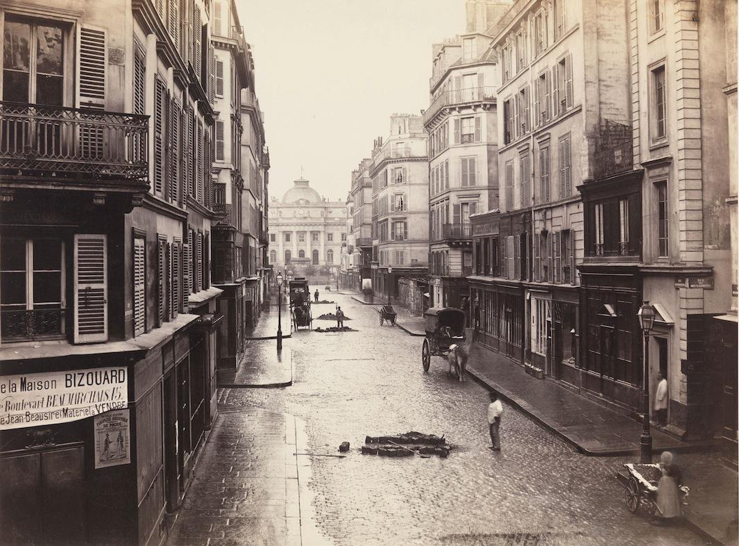 Maison Du Puzzle Paris photos document paris' modernization in the exhibition