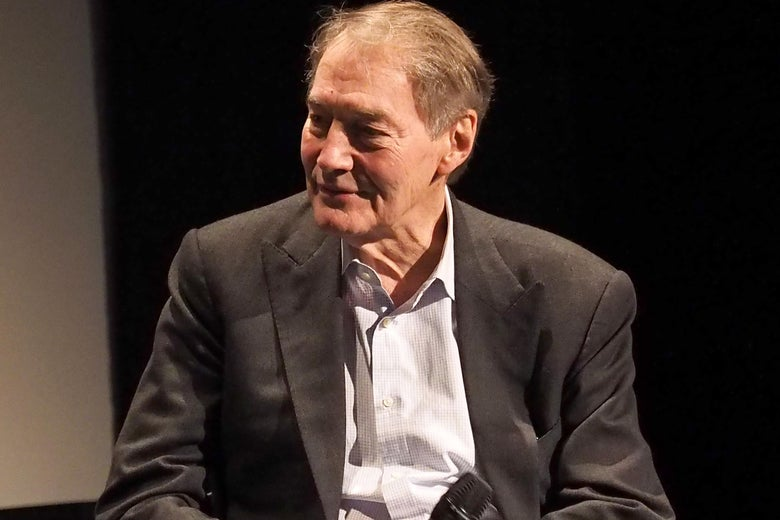 TV host Charlie Rose on April 16, 2016 in New York City.