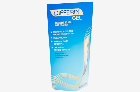 Differin Gel Acne Treatment.