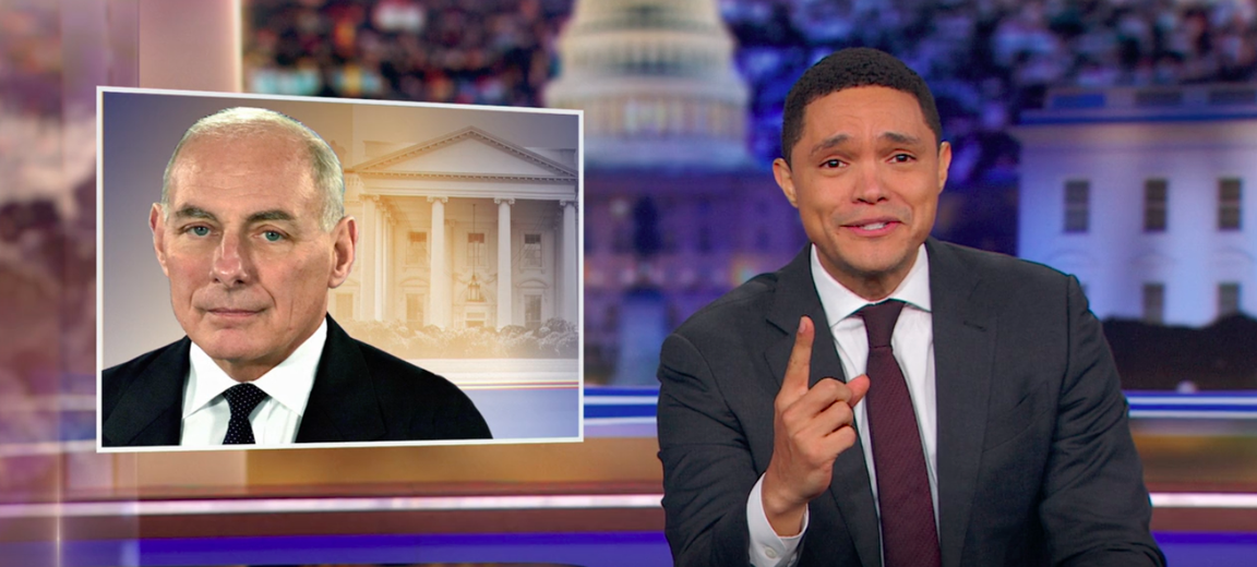 Trevor Noah Says the White House Can't Even Get an Immigrant to be Chief of Staff