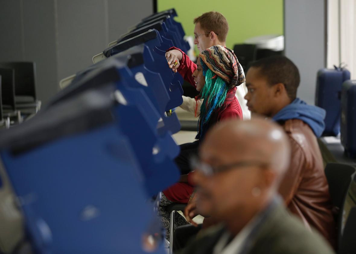 Justice Department to North Carolina: Stop Illegally Purging Black Voters From the Rolls