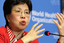 World Health Organization (WHO) director general Margaret Chan. Click image to expand.