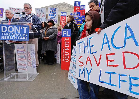 ACA rally at SCOTUS