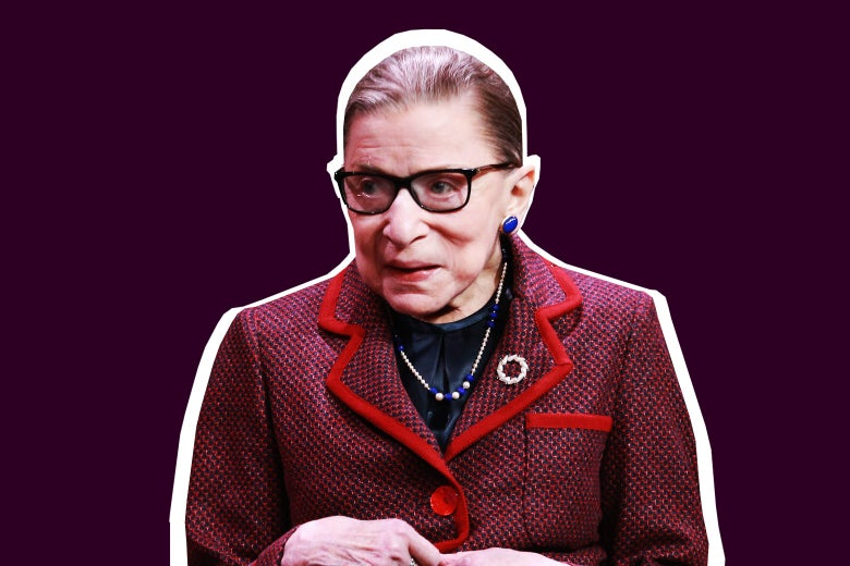 Associate Justice of the Supreme Court of the United States Ruth Bader Ginsburg speaks during the Cinema Café at the 2018 Sundance Film Festival at Filmmaker Lodge on Jan. 21 in Park City, Utah.