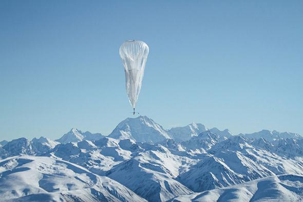 Google's balloons are becoming a familiar sight in the skies over the Southern Hemisphere.