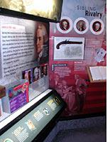 Packin' 'em in: exhibits inside the Time Machine