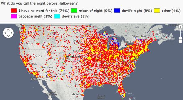 Night before Halloween: Mischief night, devil's night