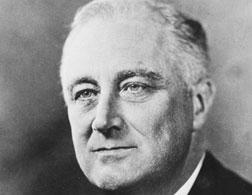 Franklin Roosevelt. Click image to expand.
