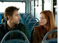 Clive Owen and Julianne Moore in Children of Men         Click image to expand.