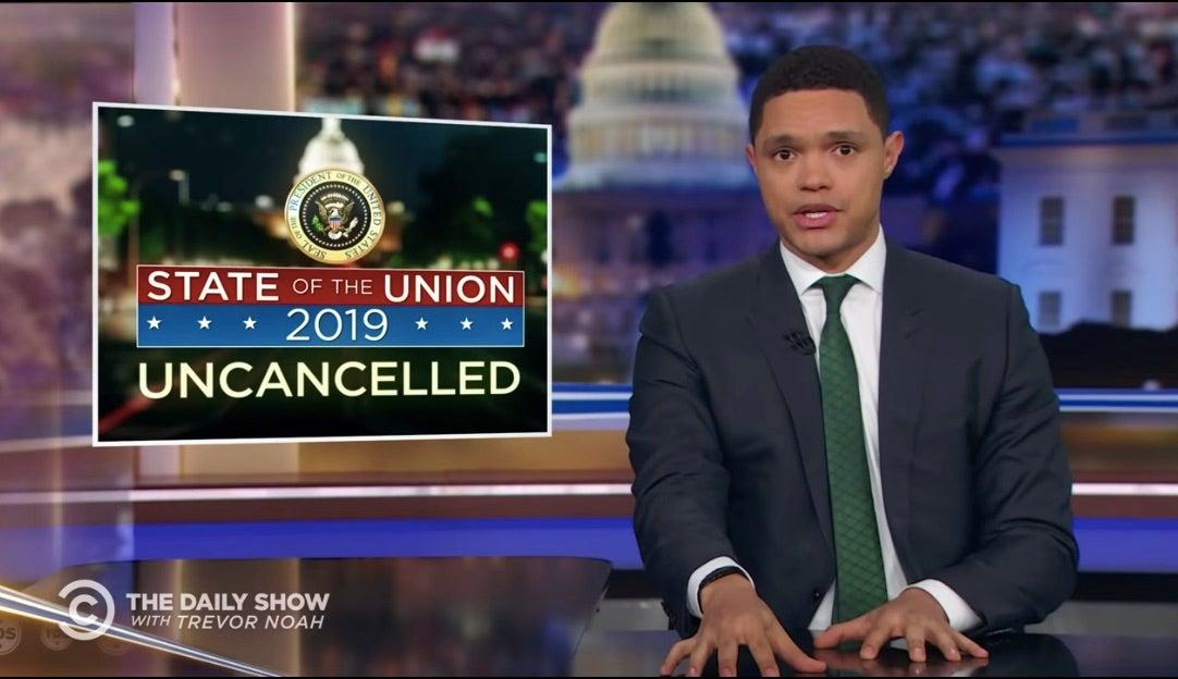 The Daily Show's Trevor Noah