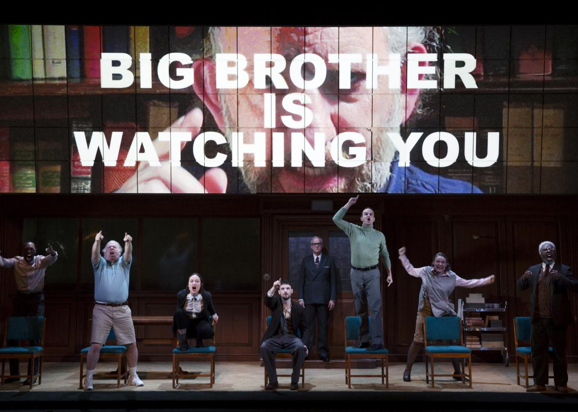 The Broadway production of George Orwell's 1984, reviewed