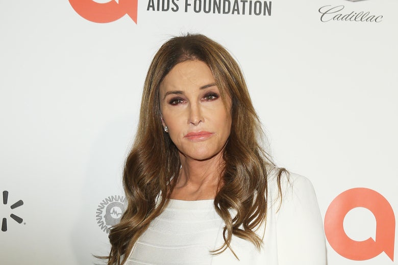 Caitlyn Jenner attends the 28th Annual Elton John AIDS Foundation Academy Awards Viewing Party on Feb. 9, 2020 in West Hollywood, California.