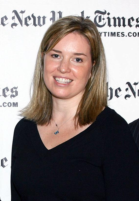 Writer Virginia Heffernan attends the third annual New York Times Sunday with the Magazine.