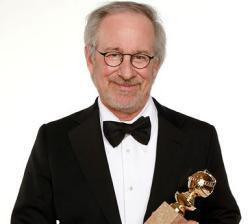 Director Steven Spielberg, winner of the Best Animated Film Award for 'The Adventures of Tintin' poses for a portrait backstage at the 69th Annual Golden Globe Awards held at the Beverly Hilton Hotel on January 15, 2012 in Beverly Hills, California.