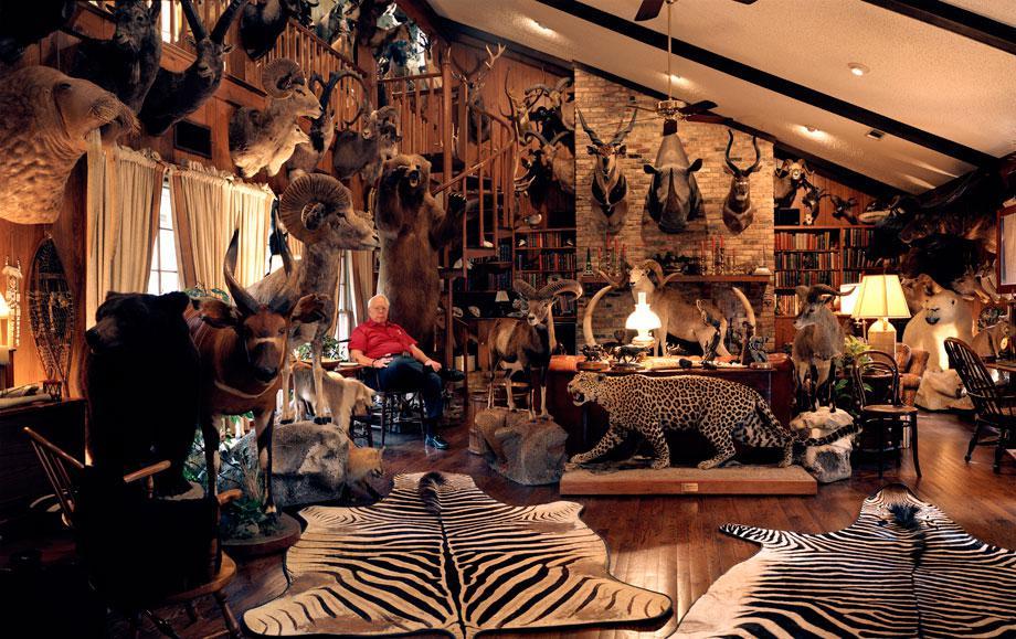 untitled hunter # I, trophy room, dallas, texasrecipient of the