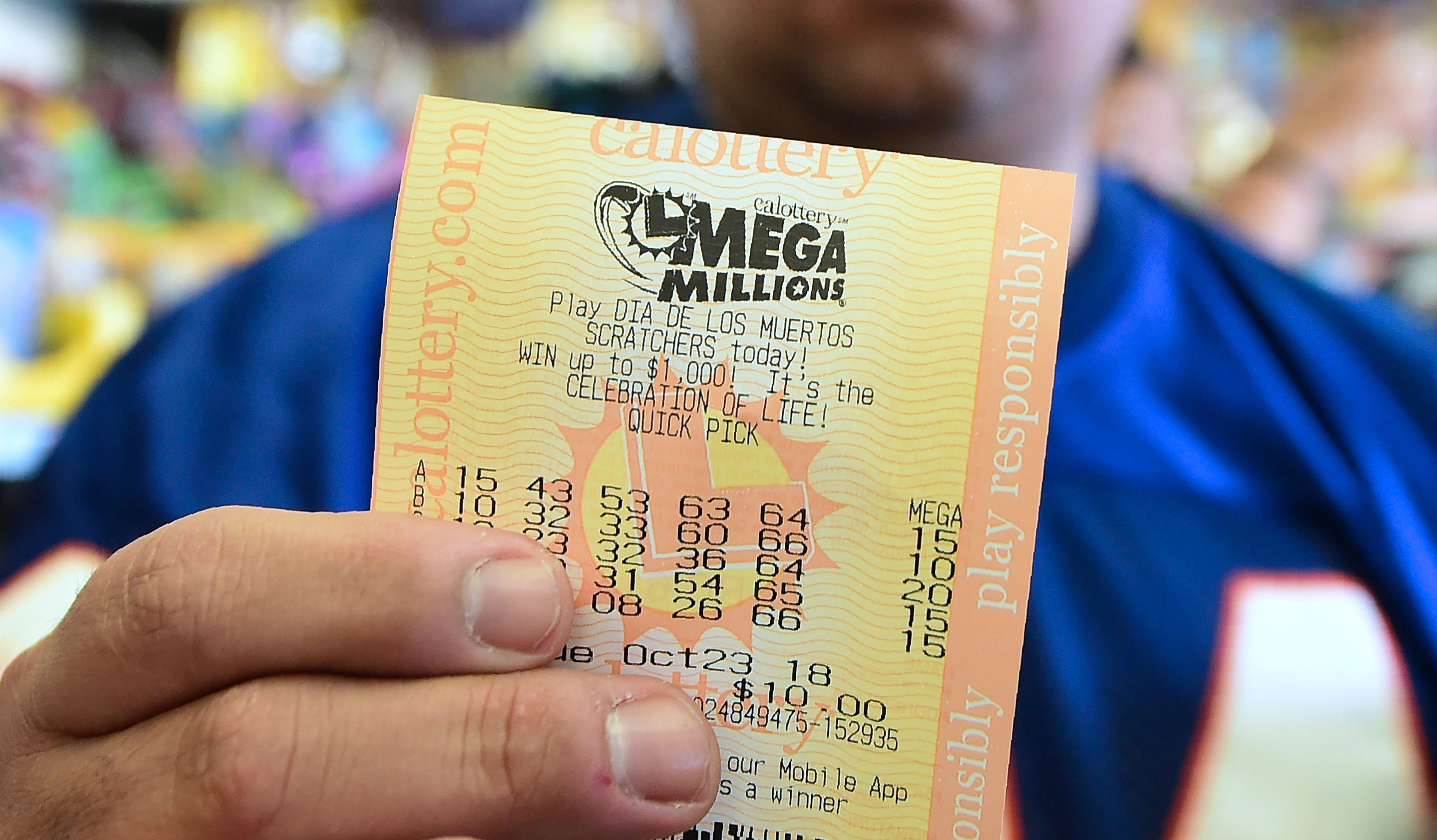 A Mega Millions ticket