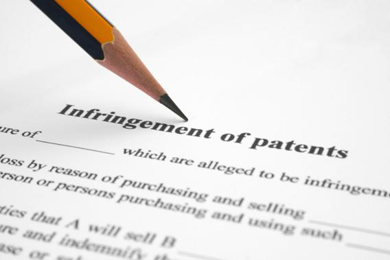 Infringement of patents.