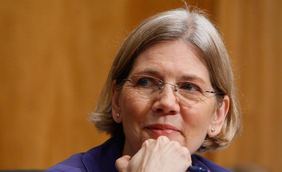 Congressional Oversight Panel chair Elizabeth Warren.