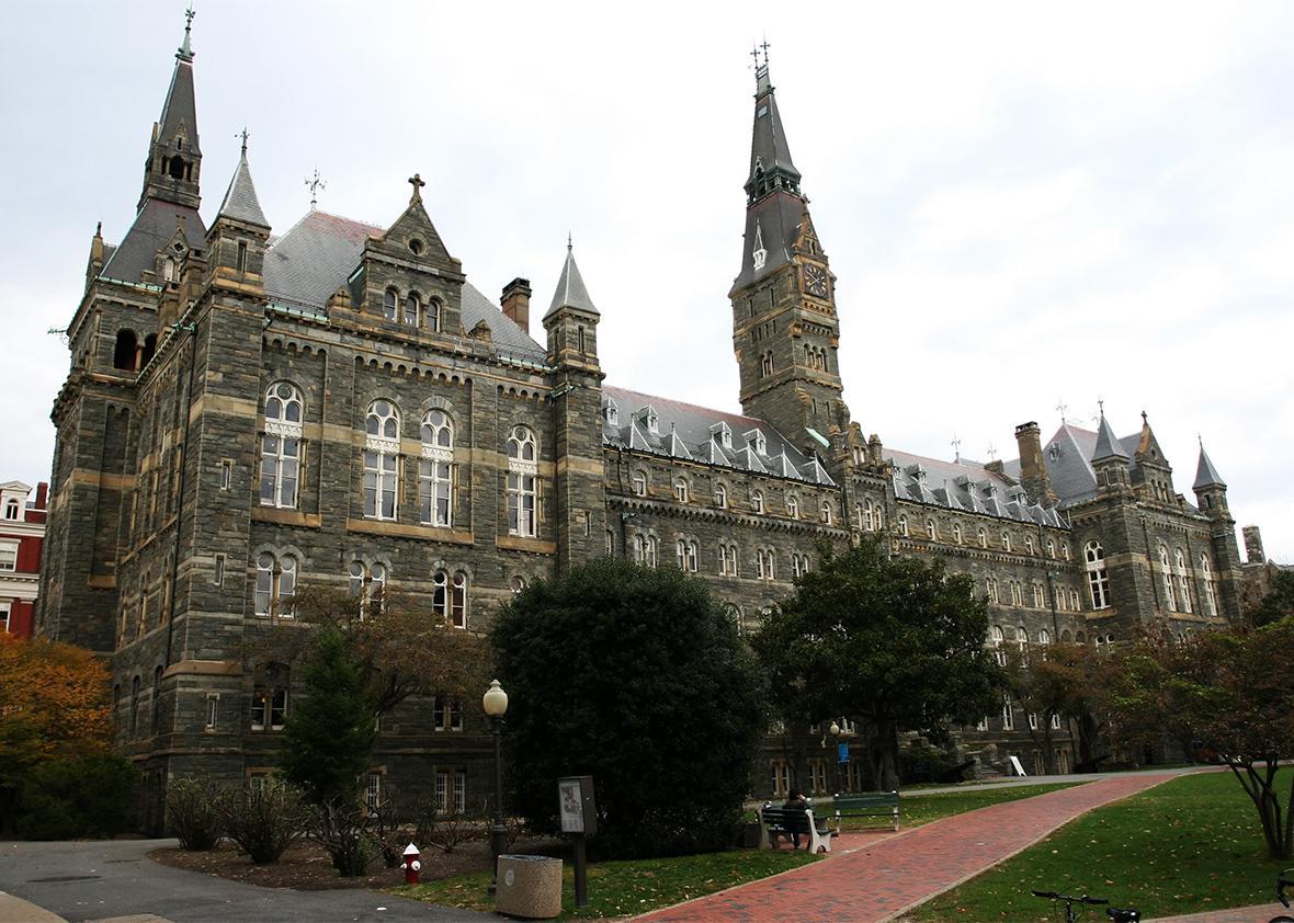 Georgetown University.