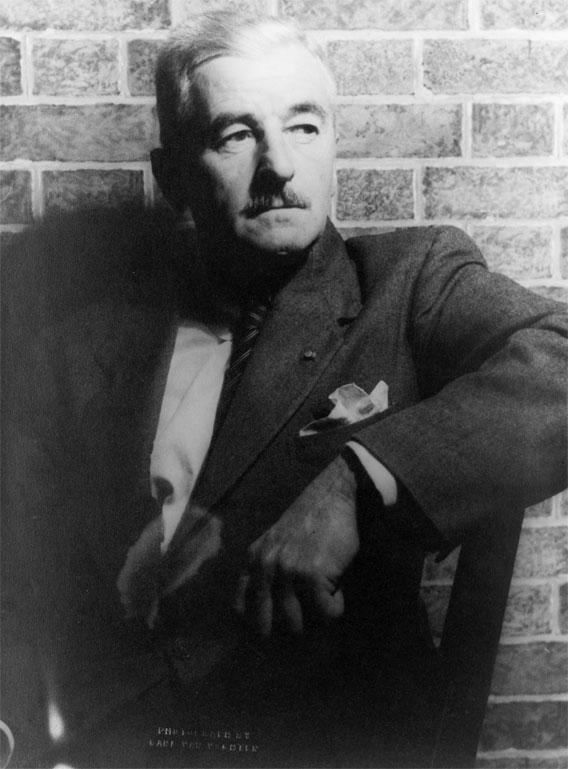 William Faulkner, 1954.