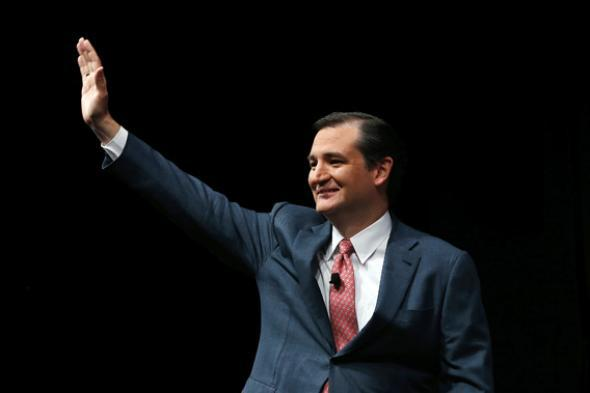 Ted Cruz speaks during the 2013 NRA Annual Meeting.