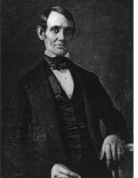 A daguerreotype of Abraham Lincoln. Click image to expand.