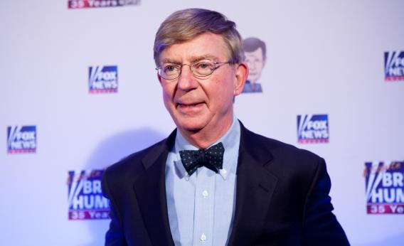 Conservative newspaper columnist George Will.