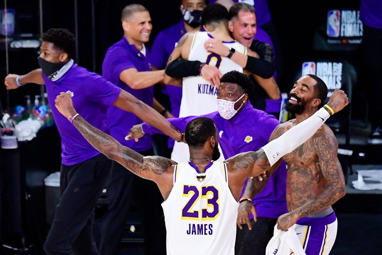 2020 NBA Finals: LeBron James leaves the bubble a champion with the Lakers.