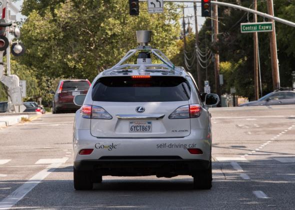 Google self-driving car video