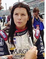 It's not like she's racing against the Andrettis.         Click image to expand.