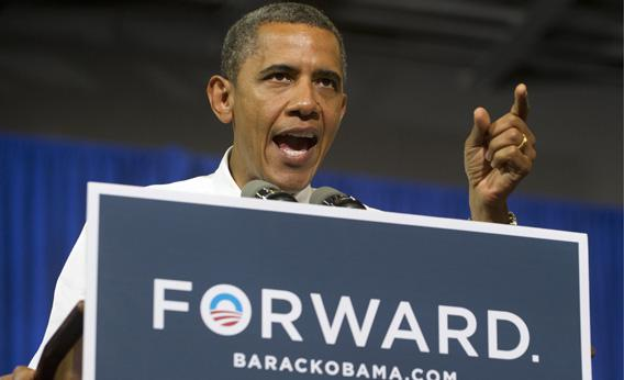 US President Barack Obama speaks about middle class tax relief