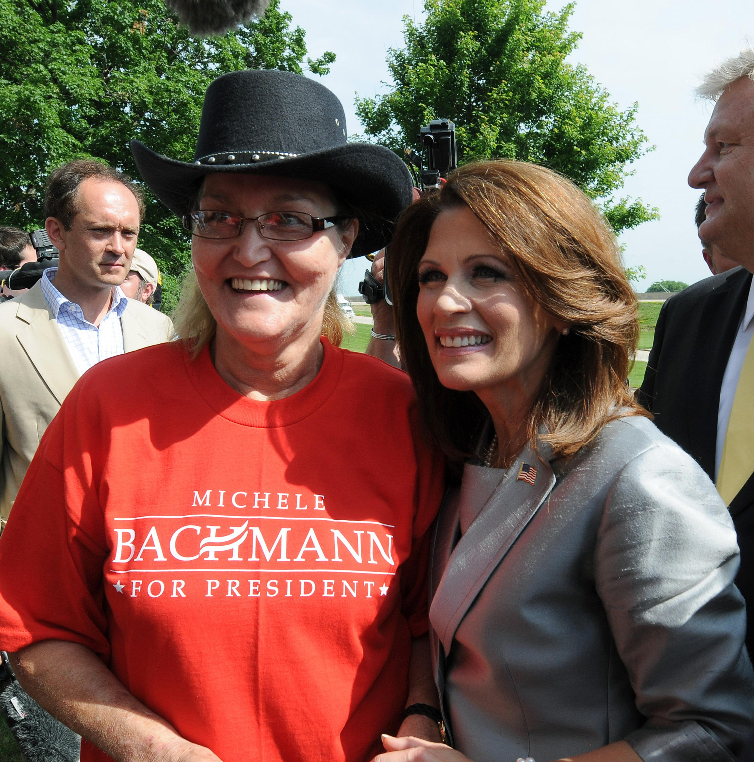 Photograph of Michele Bachmann by Steve Pope/Getty Images.