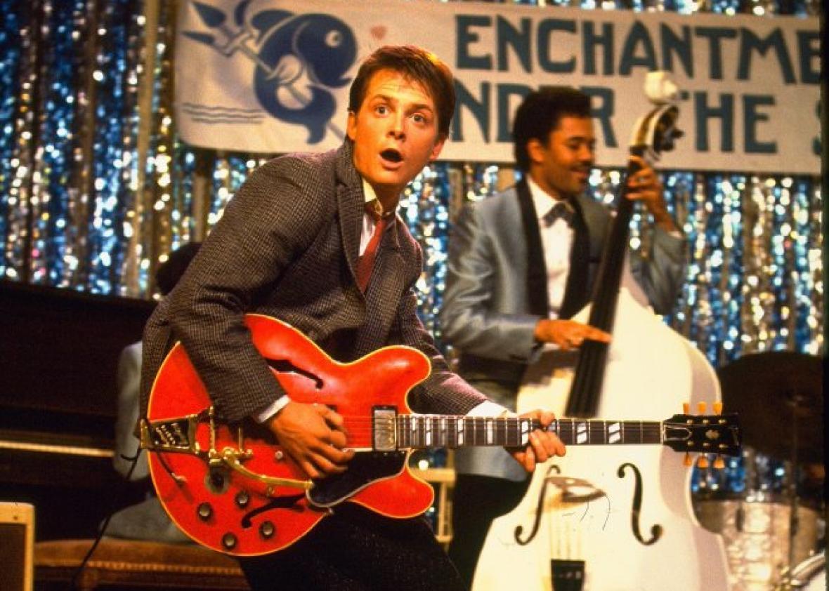 "Michael J. Fox joins Coldplay, plays ""Johnny B. Goode"" (VIDEO)."