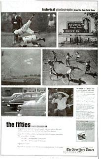 Click on image to enlarge the New York Times ad