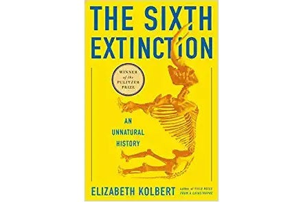 The Sixth Extinction book cover.