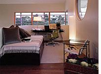 """The bedroom/office of the NAHB """"New American Home"""""""