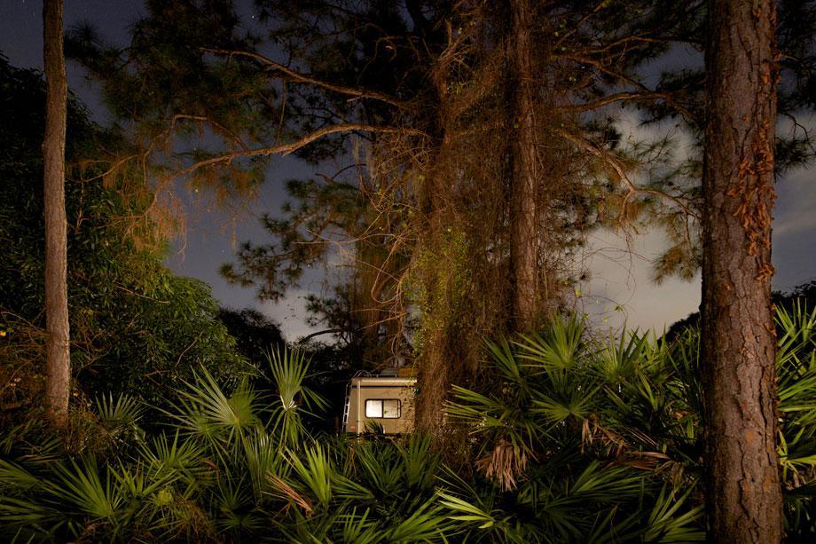 White RV Four Pines