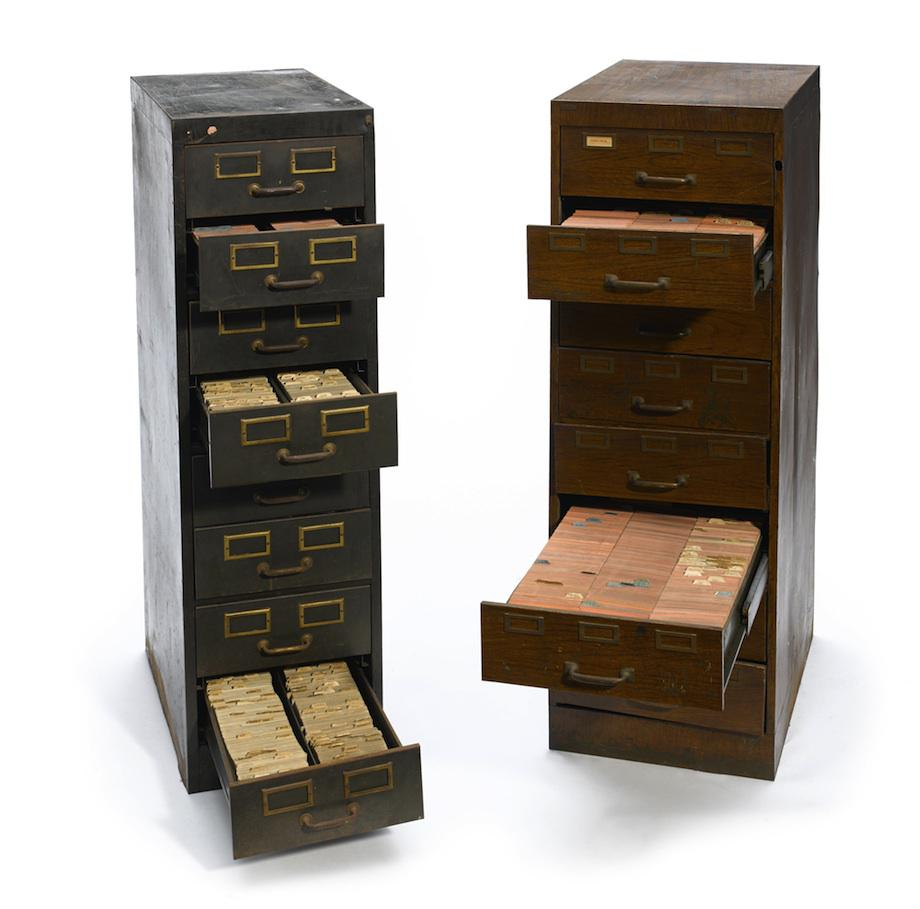 Berle's file cabinets