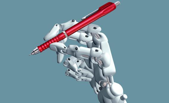 Robot writer.