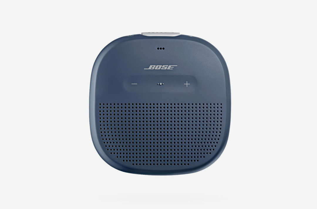 Bose SoundLink Micro Bluetooth speaker.