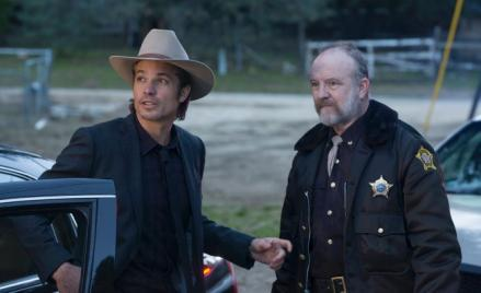 Raylan Givens and Shelby Parlow