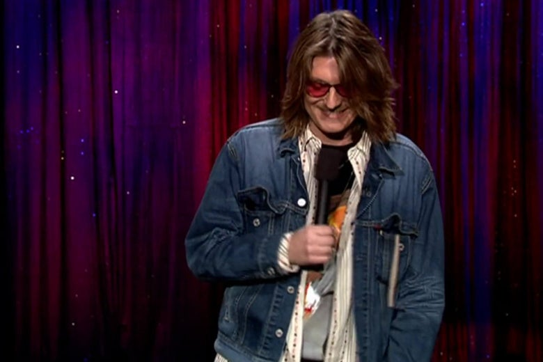 Start the New Year Right by Watching Mitch Hedberg on Late Night with Conan O'Brien