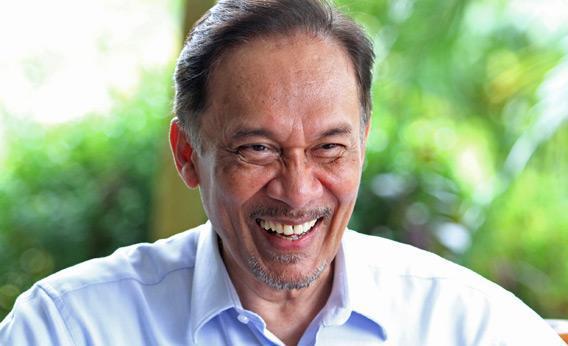 Malaysian opposition leader Anwar Ibrahim.