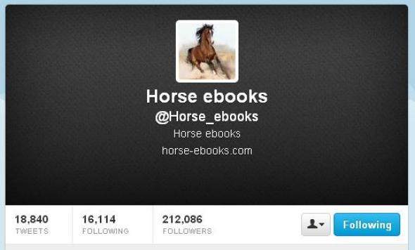 Horse_ebooks Twitter