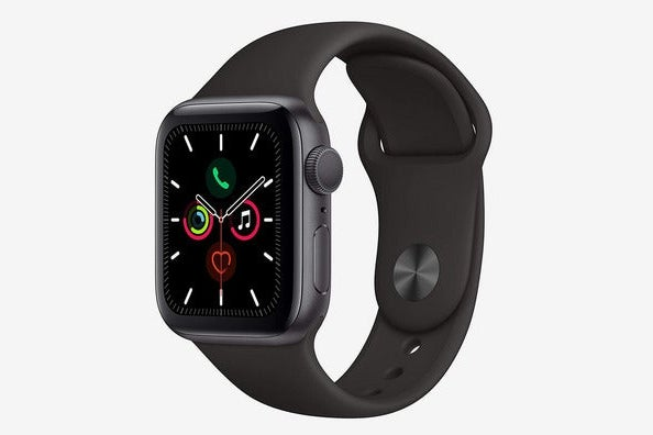 Apple Watch Series 5 Space-Gray Aluminum Case With Sport Band