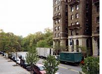 The view from my window on 110th Street