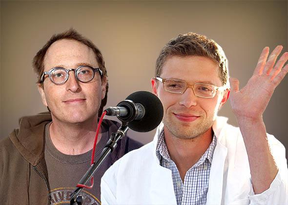 Jon Ronson and Jonah Lehrer.
