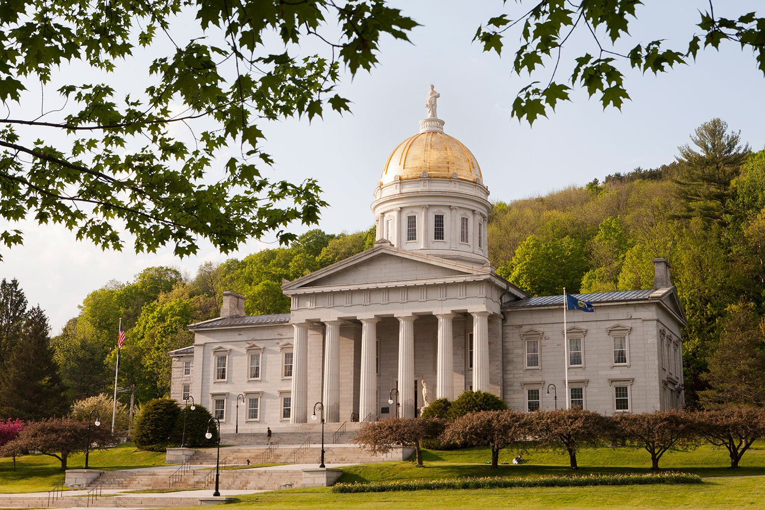 The Vermont Statehouse